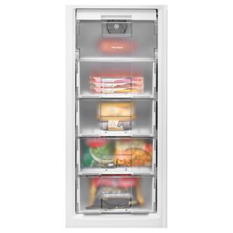 Beko CFG1501W 55cm Frost Free Fridge Freezer in White 2 01m F Rated