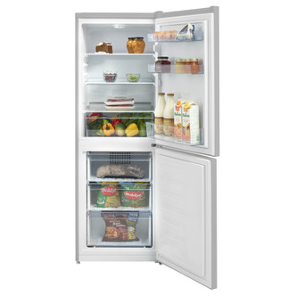 Beko CFG3552S 55cm Frost Free Fridge Freezer in Silver 1 53m F Rated