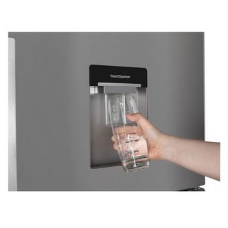 Beko CFP1691DX Frost Free Fridge Freezer in Stainless 1 91m 60cm Water