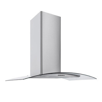 Image of Culina CG60SSPF 60cm Curved Glass Chimney Hood in St Steel