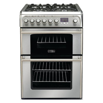 Cannon CH60DPXFS 60cm PROFESSIONAL Dual Fuel Cooker in Stainless Steel