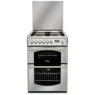 Cannon CH60DTXFS 60cm TRADITIONAL Dual Fuel Cooker in Stainless Steel