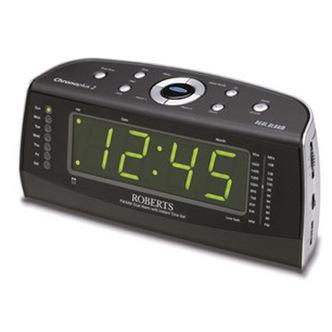 Roberts CHRONOSPLUS2 Clock Radio FM MW with Dual Alarm with Instant Ti