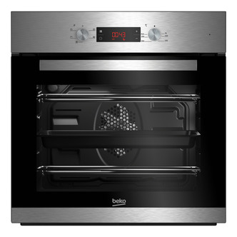 Image of Beko CIF81X Built In Electric Single Fan Oven in St Steel LED Timer
