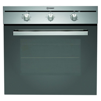 Indesit CIMS51KAIX Built In Single Multifunction Oven in Stainless Ste