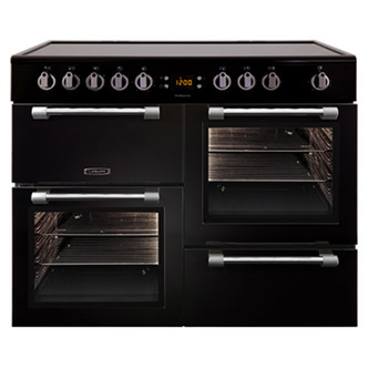 Leisure CK100C210K 100cm COOKMASTER Electric Range Cooker in Black