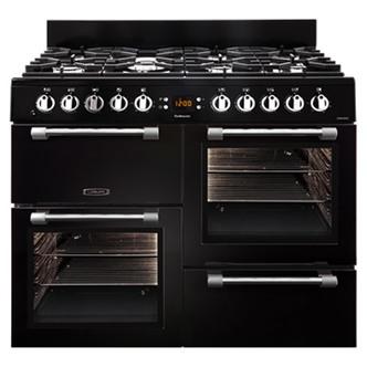 Image of Leisure CK100G232K 100cm COOKMASTER Gas Range Cooker in Black