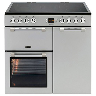 Image of Leisure CK90C230S 90cm COOKMASTER Electric Range Cooker in Silver