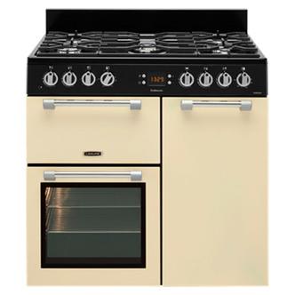 Leisure CK90F232C 90cm COOKMASTER Dual Fuel Range Cooker in Cream
