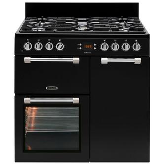 Leisure CK90G232K 90cm COOKMASTER Gas Range Cooker in Black