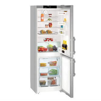 Liebherr CNef3515 Comfort 181x60cm A++ NoFrost Freestanding Fridge Freezer SmartSteel Doors