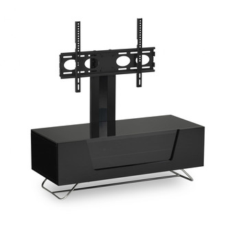 Image of Alphason CRO21000BKBK Chromium 2 Cantilever TV Cabinet 1000mm Wide in