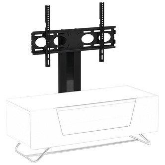 Image of Alphason CRO2 BKT Cantilever Bracket for Chromium 2 TV Cabinets in Bla