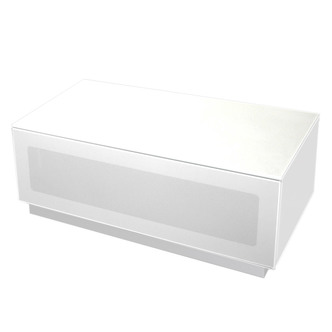 Alphason EMTMOD850WH Element High Gloss TV Cabinet 850mm Wide in White