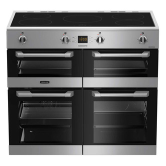 Image of Leisure CS100D510X 100cm CUISINEMASTER Induction Range Cooker in St St