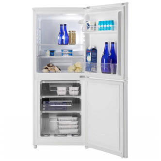 Candy CSC135WEK 136x54cm Freestanding Fridge Freezer In White