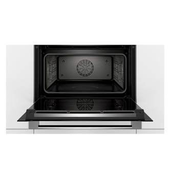 Image of Bosch CSG656BS7B Serie 8 H C Single Compact Steam Oven in Br Steel