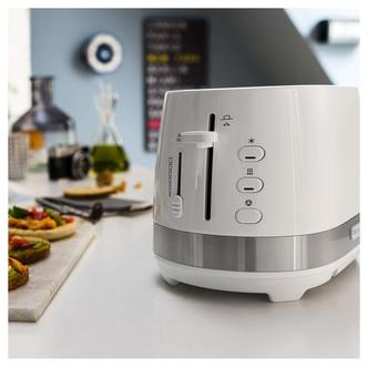 Delonghi CTLA2003W 2 Slice Toaster in White