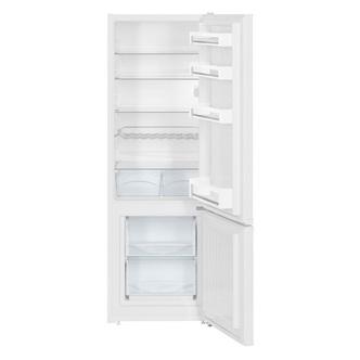 Liebherr CU2831 55cm SmartFrost Fridge Freezer in White 1 61m F Rated