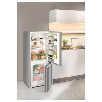 Liebherr CUEL2331 55cm SmartFrost Fridge Freezer St Steel 1 37m F Rate
