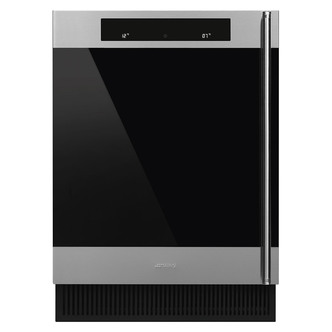 Smeg CVI338XS 60cm Integrated 38 Bottle Wine Cooler in St Steel A