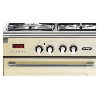 Image of Delonghi D3VR908DF Vintage 90cm Triple Cavity Dual Fuel Range Cooker C