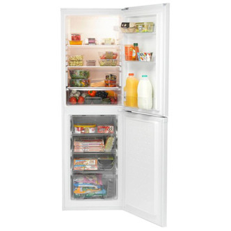 Indesit DAA55NF1 Frost Free Fridge Freezer in White 1 72m 55cmW A