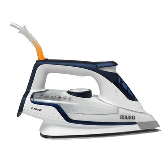 Image of AEG DB6120U Steam Iron 2200W Hard Anodized Soleplate in Deep Blue