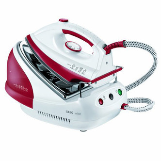 Image of AEG DBS2300 U Perfect Steam Generator Iron 2300W White Red