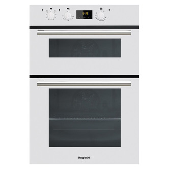 Image of Hotpoint DD2540WH Built In Electric Double Oven in White
