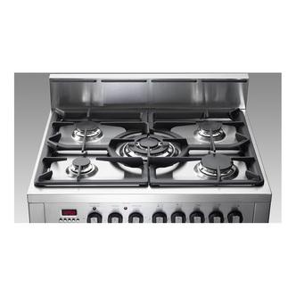 Image of Delonghi DDC707DF 70cm Freestanding Double Oven Duel Fuel Cooker in St