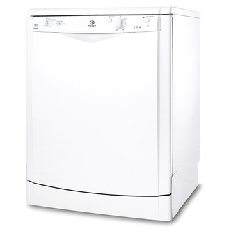 Indesit DFG15B1 60cm Dishwasher in White 13 Place Set A AA Rated