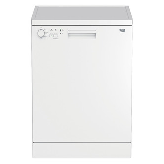 Beko DFN04C10W 60cm Dishwasher in White 12 Place Setting A Rated