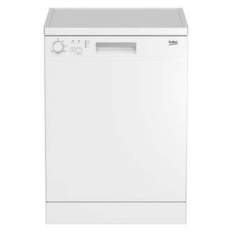 Beko DFN05X10W 60cm Dishwasher in White 12 Place Setting A Rated