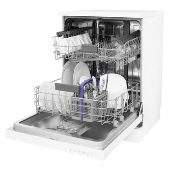 Beko DFN16420W 60cm Dishwasher in White 14 Place Setting A Rated