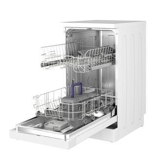 Beko DFS05C10W 45cm Slimline Dishwasher in White 10 Place Setting A
