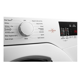 Image of Hoover DHL1482D3 Washing Machine in White NFC 1400rpm 8kg A Rated