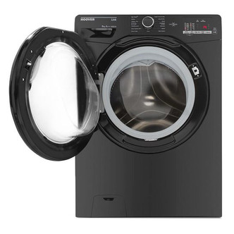 Image of Hoover DHL1482DBB Washing Machine in Black NFC 1400rpm 8kg A Rated