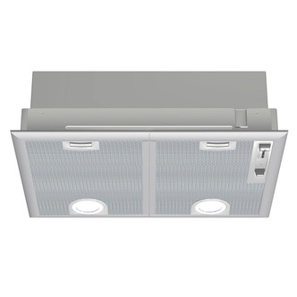 Image of Bosch DHL555BGB 55cm Integrated Canopy Cooker Hood in Brushed Steel