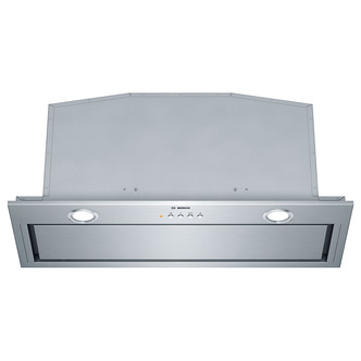 Image of Bosch DHL785CGB 70cm Integrated Canopy Cooker Hood in Brushed Steel
