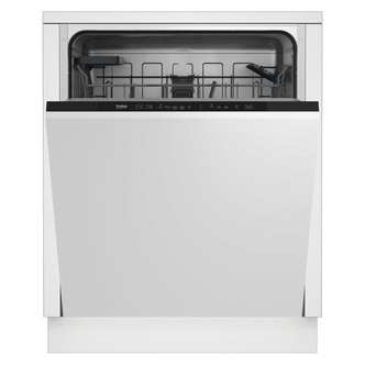 Image of Beko DIN15C20 60cm Integrated 14 Place Dishwasher in St St A Rated