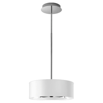 Image of AEG DLE0431W 50cm Lamp Style Island Chimney Hood in White 3 Speed