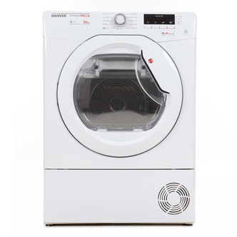 Hoover DMHD1013A2 10kg Heat Pump Condenser Tumble Dryer in White A