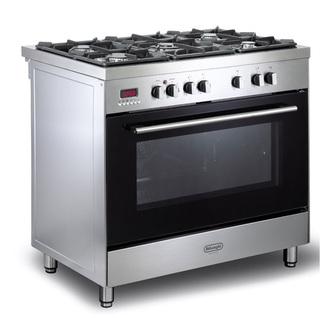 Image of Delonghi DSR9071DFS Modern 90cm Single Cavity Dual Fuel Range Cooker S
