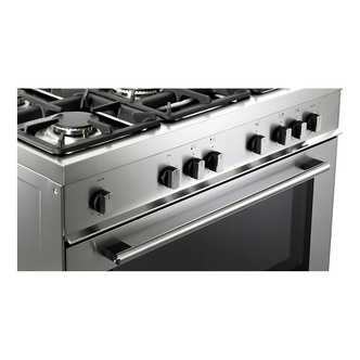 Image of Delonghi DSR916GS Professional 90cm Single Cavity Gas Range Cooker St