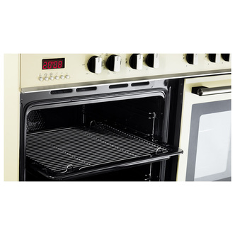 Image of Delonghi DTR906DFCR Professional 90cm Twin Cavity Dual Fuel Range in C