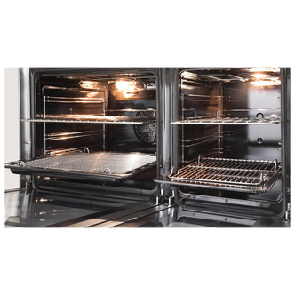 Image of Delonghi DTR906DF Professional 90cm Twin Cavity Dual Fuel Range in St