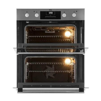 AEG DUB331110M Built Under Double Electric Oven in St Steel A Rated