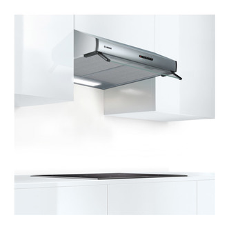 Image of Bosch DUL63CC50B Serie 4 60cm Built Under Conventional Hood in Br Stee