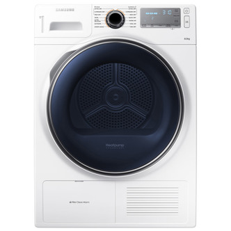 Samsung DV80H8100HW 8kg Condenser Tumble Dryer in White A Energy Rated